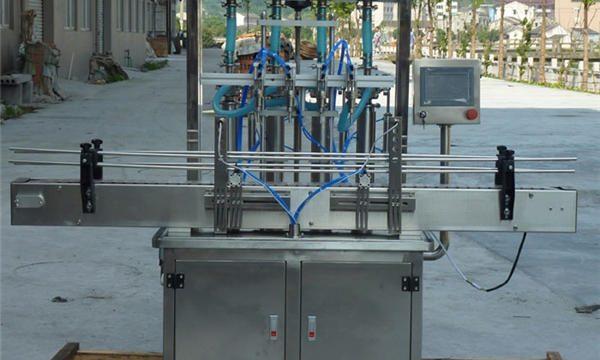 Mesin pengisian tampalan kacang automatik