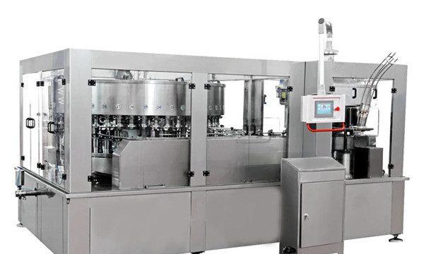 Aluminium Boleh Mengisi Mesin Untuk Tenaga Minuman Minuman Lembut