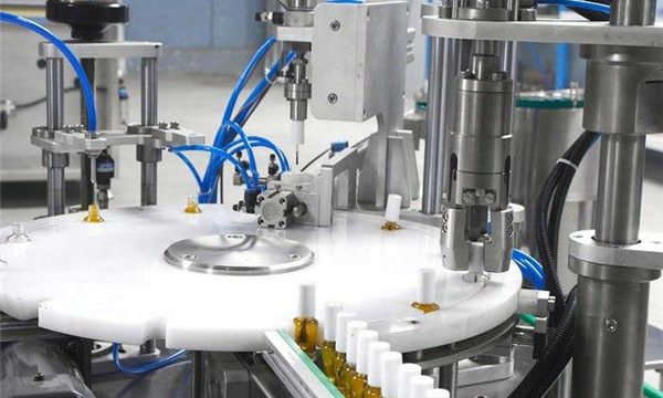 Rotary Automatic Bottle Capping Machine