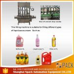 Automatik 2, 4, 6, 8, 10, 12 Heads Edible Cooking Oil Minyak Mesin Pengisian