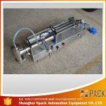 Mesin Pengisian Piston Separa automatik Mesin pengisian minyak yang ideal
