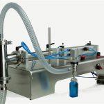 Kawalan Pneumatik Double Heads Lube Oil Filling Machine