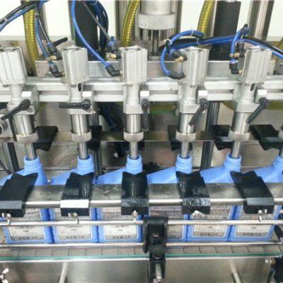 6 kepala Mesin pengisian minyak automatik mesin