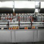 Mesin pengisian sos panas automatik