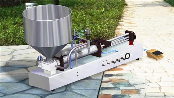Mesin Pengisian Cecair Detergen Semi-Automatik