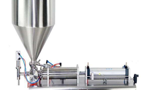 Semi-automatik Piston Jar Cream Filling Machine