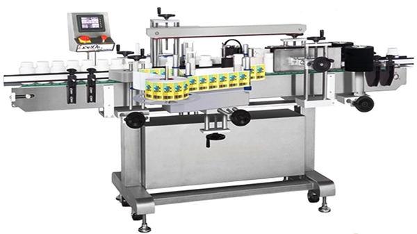 Automatik Double-Side Glass Bottle Labeling Machine