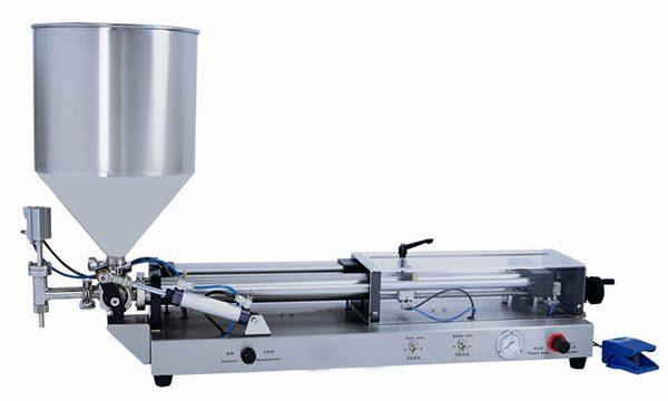 Mesin Semi-automatik Paste Mesin untuk 3mL-5L