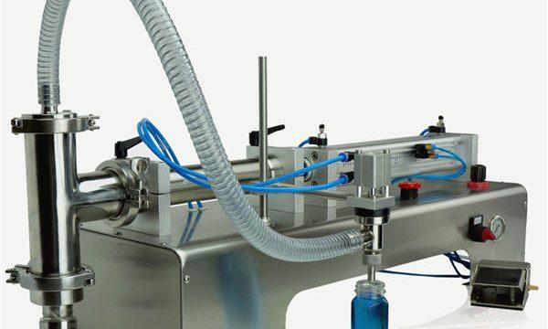 Mesin Pengisian Piston Semi Automatik Berkualiti Tinggi Reka Bentuk Baru