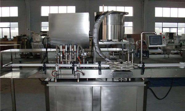 Mesin pengisian piston lurus automatik
